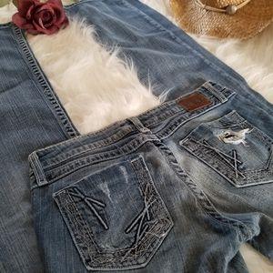 BKE Buckle Stella Skinny Stretch Jeans 29 Tall